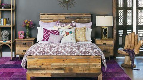 Мебель из поддонов. Кровать из поддонов своими руками