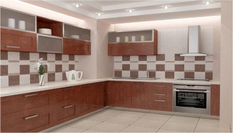 Напольная плитка для кухни в интерьере: выбор, преимущества, идеи