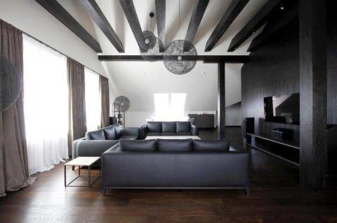Декоративные балки в интерьере: атмосфера деревенского дома в обычной квартире