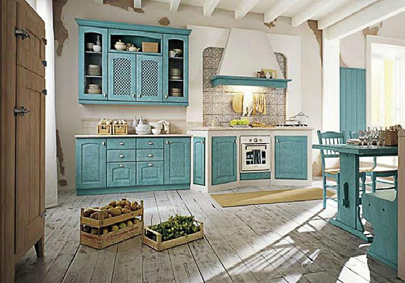 дизайн кухни в стиле прованс неповторимый колорит франции
