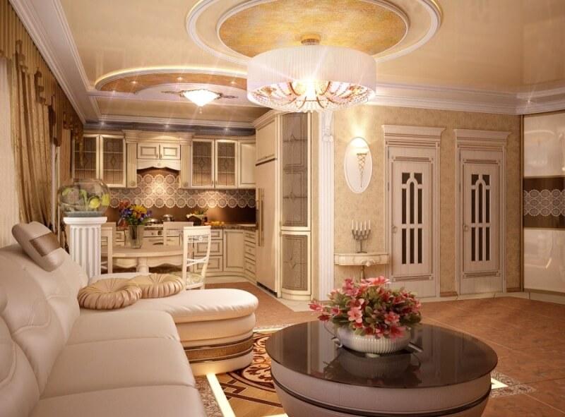 дизайн квартир классический стиль фото