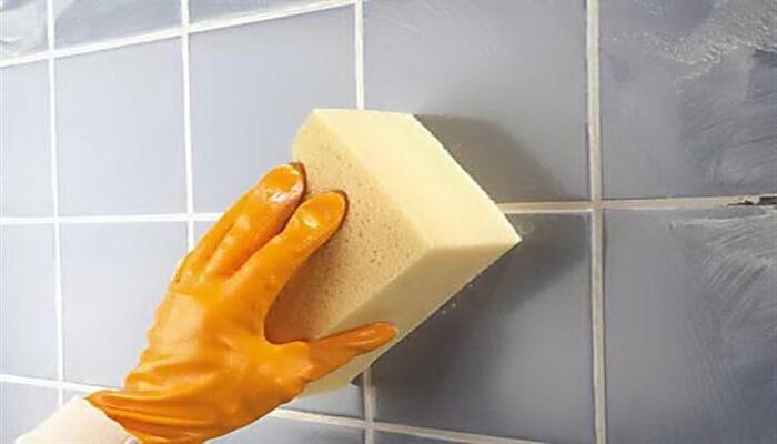 Очищение плитки