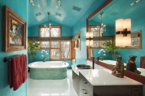 Современные ванные комнаты: выбираем стиль и цветовую гамму