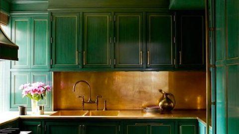 Зеленый цвет в интерьере квартиры. Интерьер в зеленых цветах