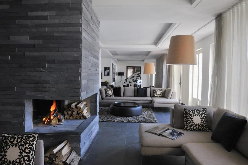 Натуральный камень в интерьере квартиры