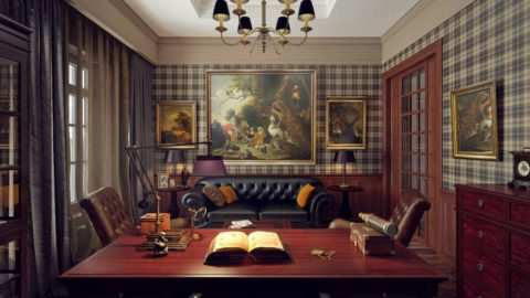 Английский интерьер: все о стиле английского дома