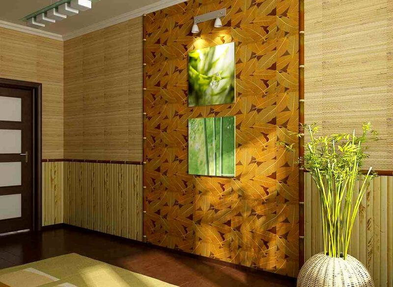 Бамбуковые панели для стен