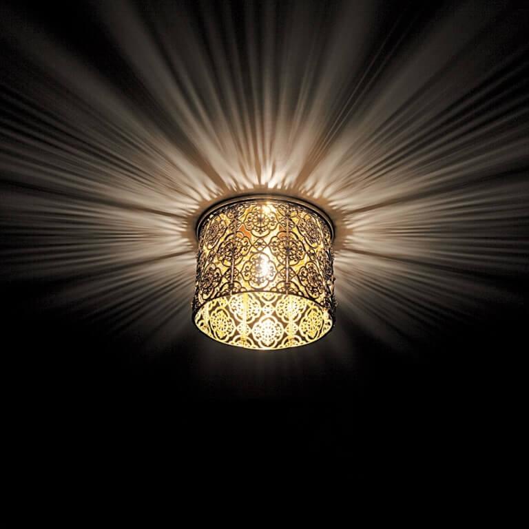 Встраиваемые потолочные светильники