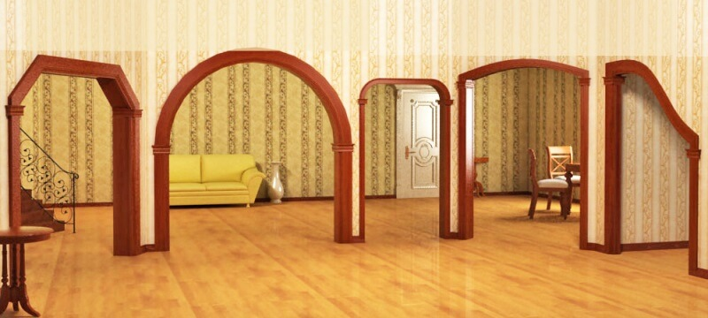 виды арок в интерьере