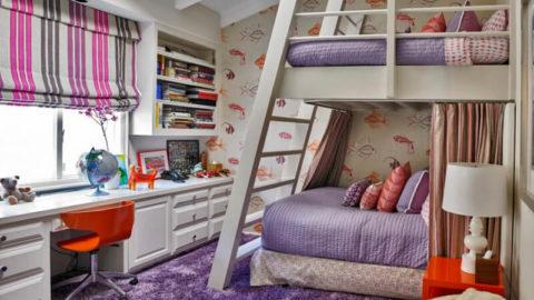 Ближе к звездам: детская мансардная комната