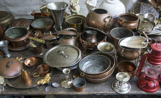 где можно продать старинную посуду даже
