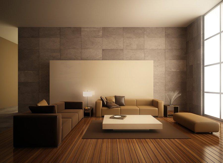Дизайн гостиной в стиле минимализм