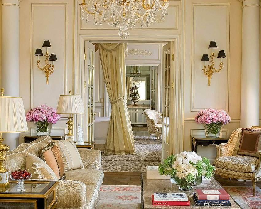 Французский дизайн интерьера