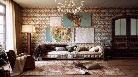 Особенности и типы схем модульных картин в интерьере гостиной