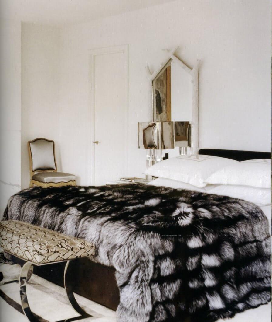 Покрывало в современную спальню