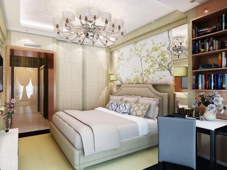 Дизайн американской спальни