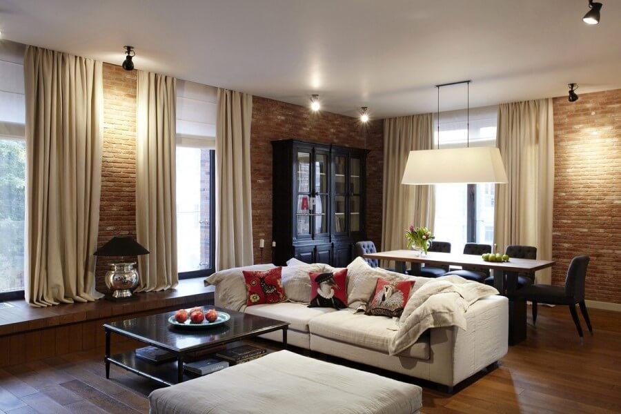Квартира в американском стиле