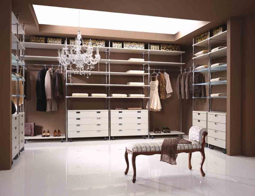 Оформление гардеробной комнаты: планировка и дизайн