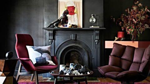 Интерьер в темных тонах: варианты оформления и советы дизайнеров