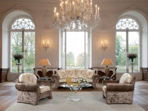 Французский классический дизайн – дворцовые палаты в собственном доме