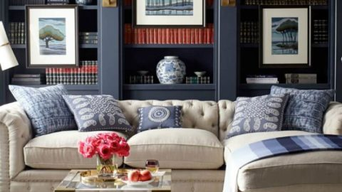 Стильные ковры в интерьерах современных гостиных