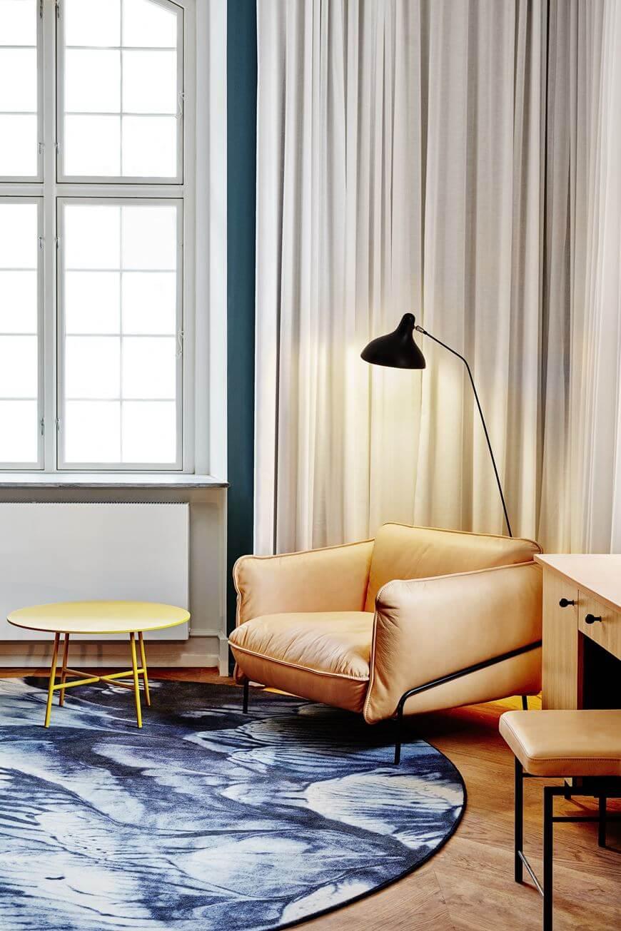 Интерьер в отеле Нобис Копенгаген