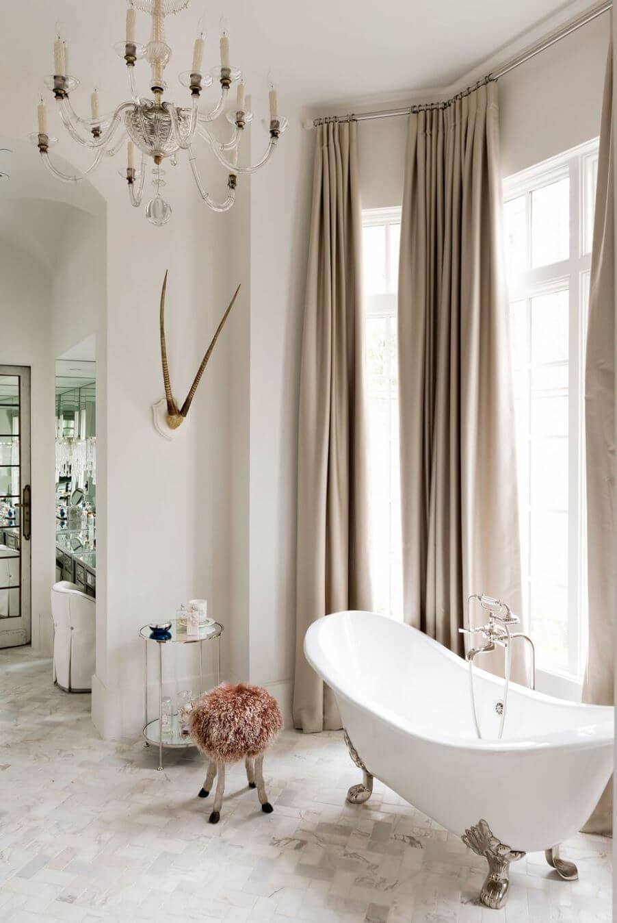 Идея интерьера для большой ванной