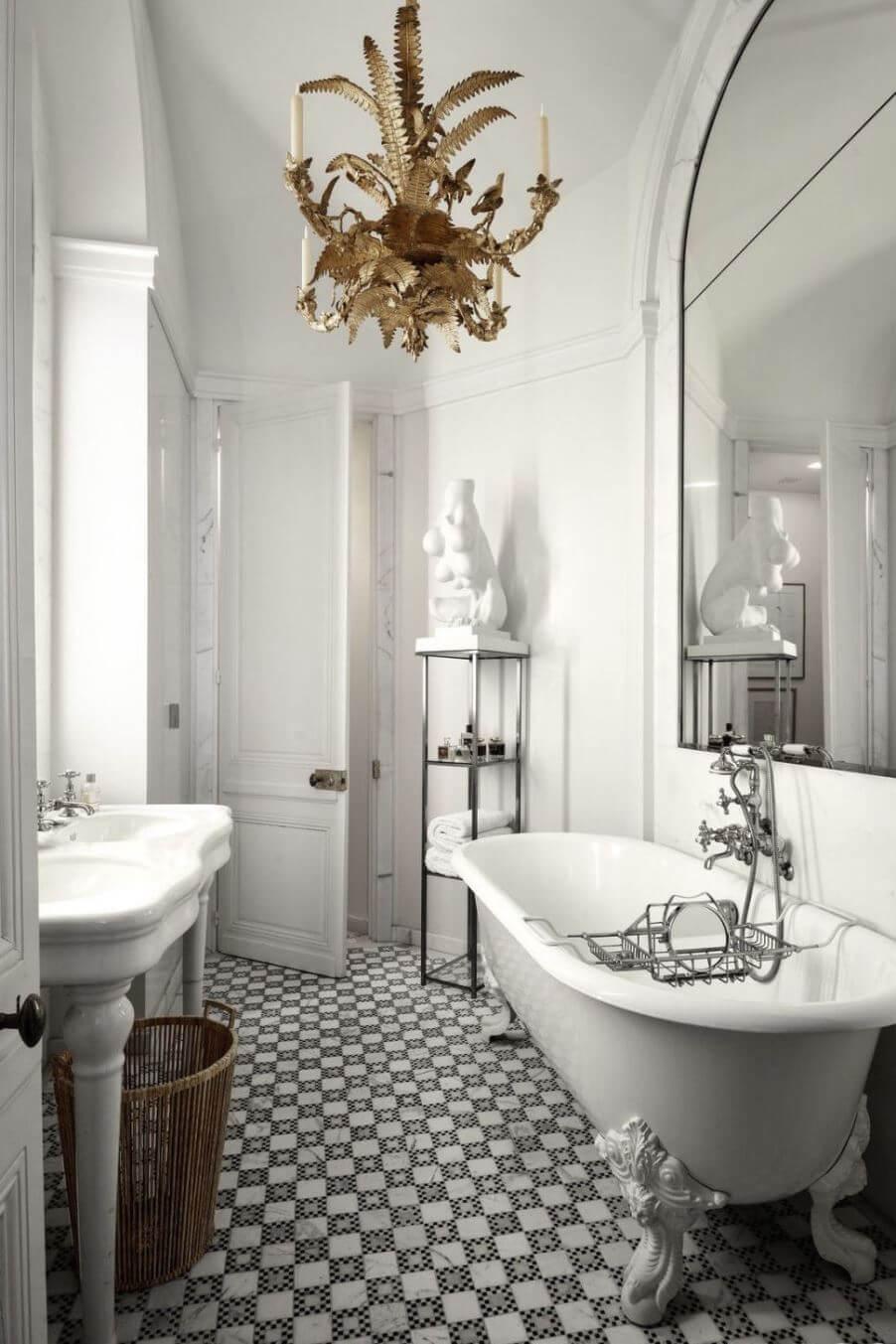 Идея интерьера ванной