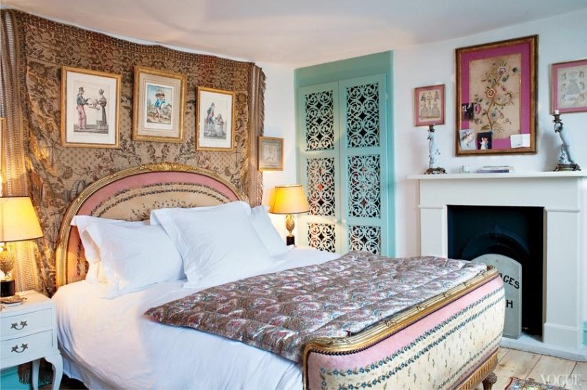Спальня в богемном стиле