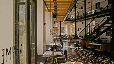 Интерьер бутик-отеля 1908 Lisboa в стиле современной классики