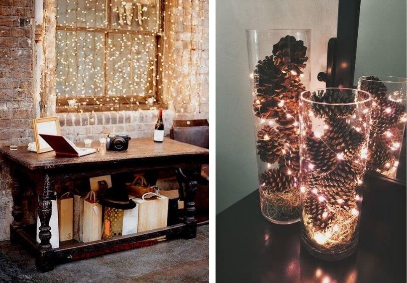 Идея новогоднего декора