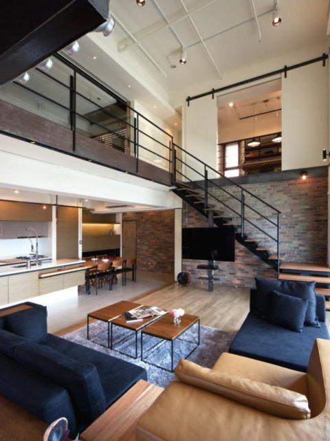 Стильно и дорого: интерьер загородного дома