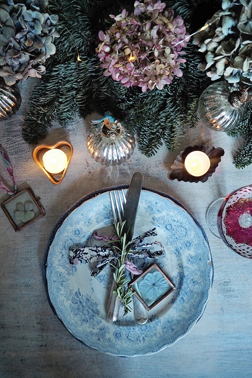 Оформление новогоднего стола
