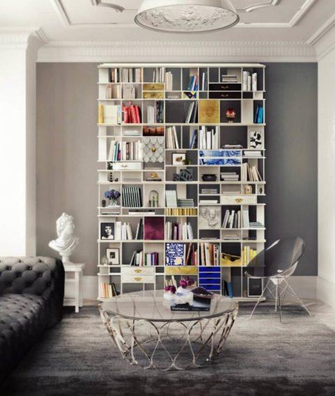Рациональность использования книжных стеллажей