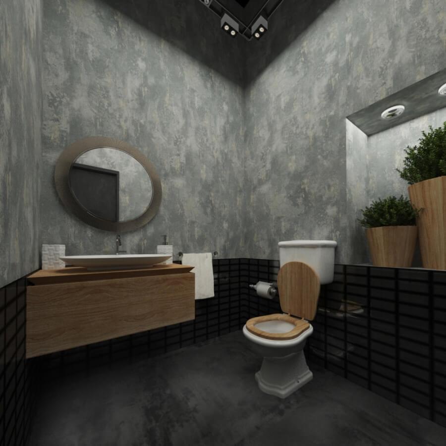 Дизайн-проект салона красоты от Caravita Studio, санузел