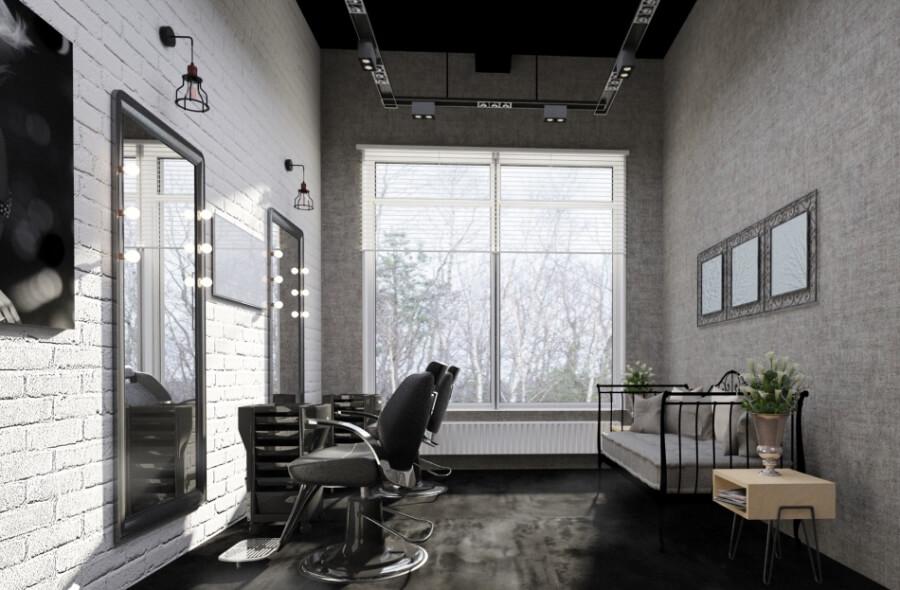 Дизайн-проект салона красоты от Caravita Studio