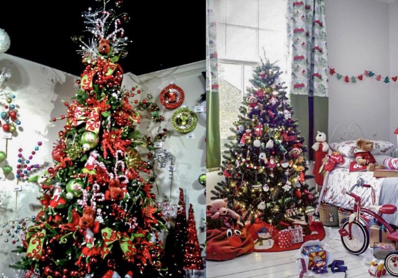 Украшение новогодней елки для детей