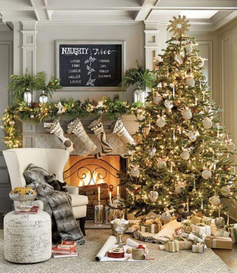 Украшение новогодней ёлки: от выбора стиля до воплощения