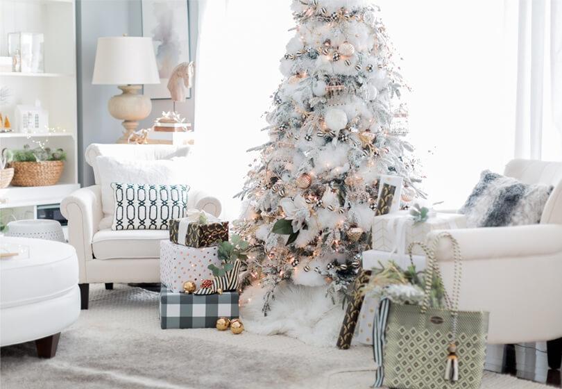 Новогоднее оформление елки