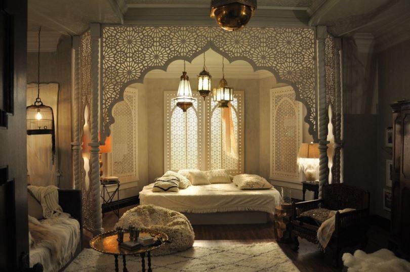 Арабский стиль в европейском интерьере