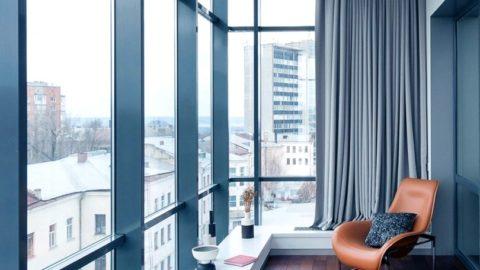 Все о холодном остеклении балконных лоджий