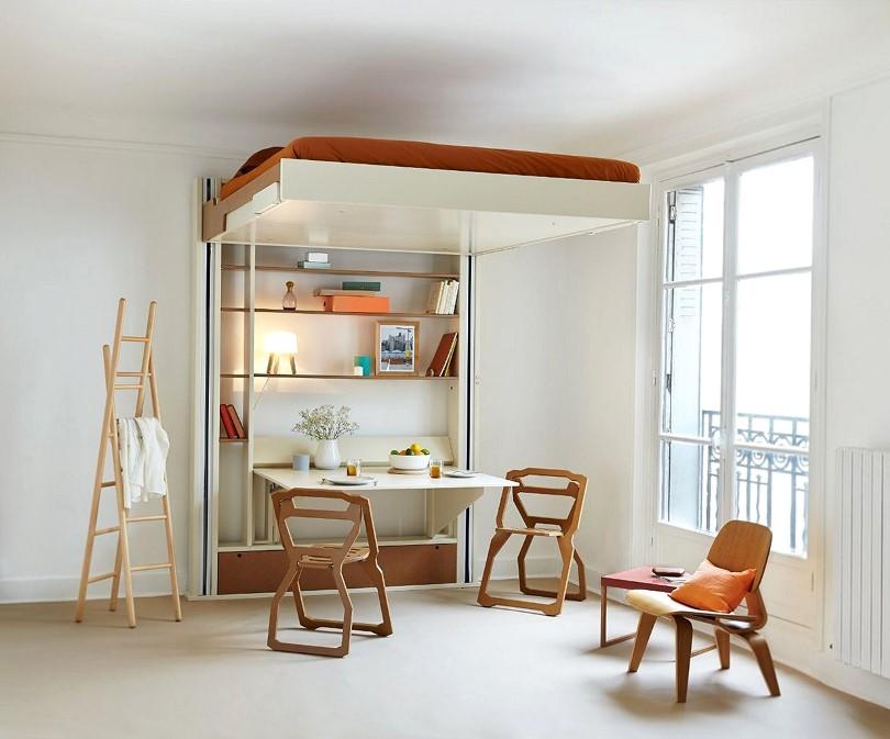 Раскладная многофункциональная мебель в интерьере