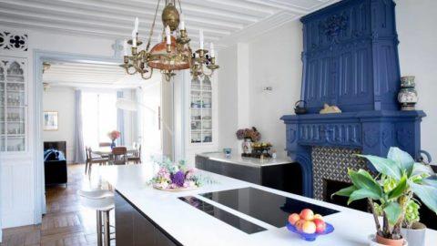 Вероник Котрель: возрождение исторической квартиры в Париже