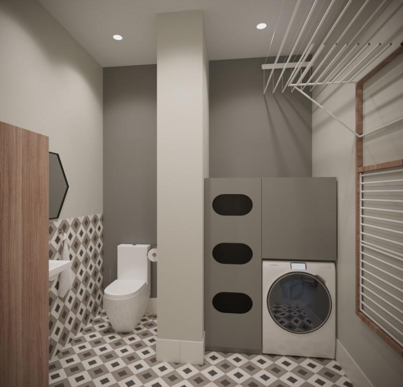 Туалет и постирочная