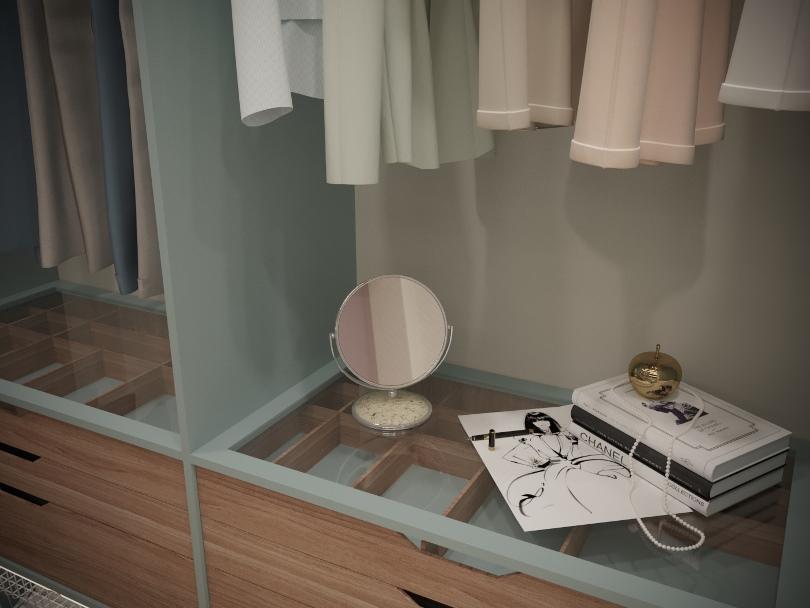 Декор в гардеробной
