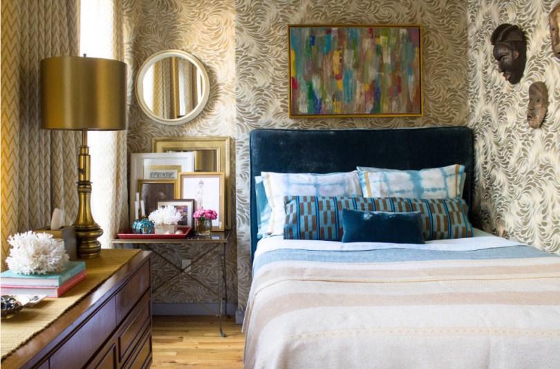 Кровать с камодом