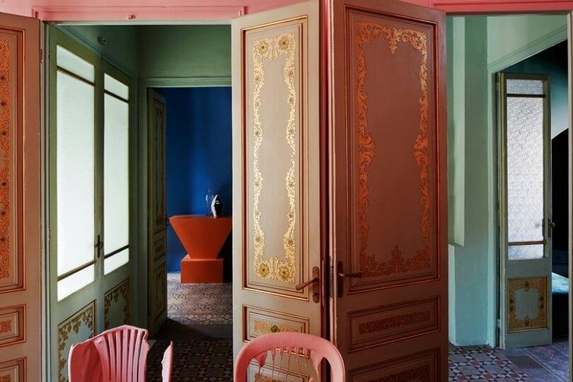 Дом художника Гильермо Сантома