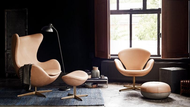 Бежевые кресла