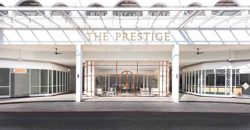 Вход в отель Prestige