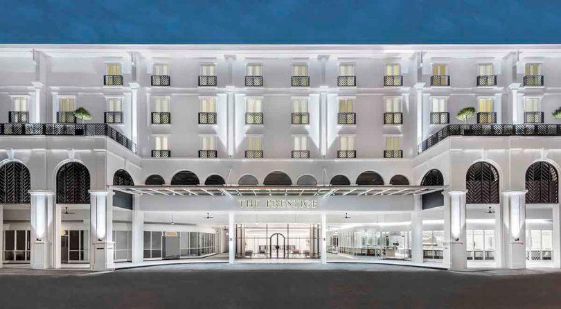 Фасад отеля Prestige